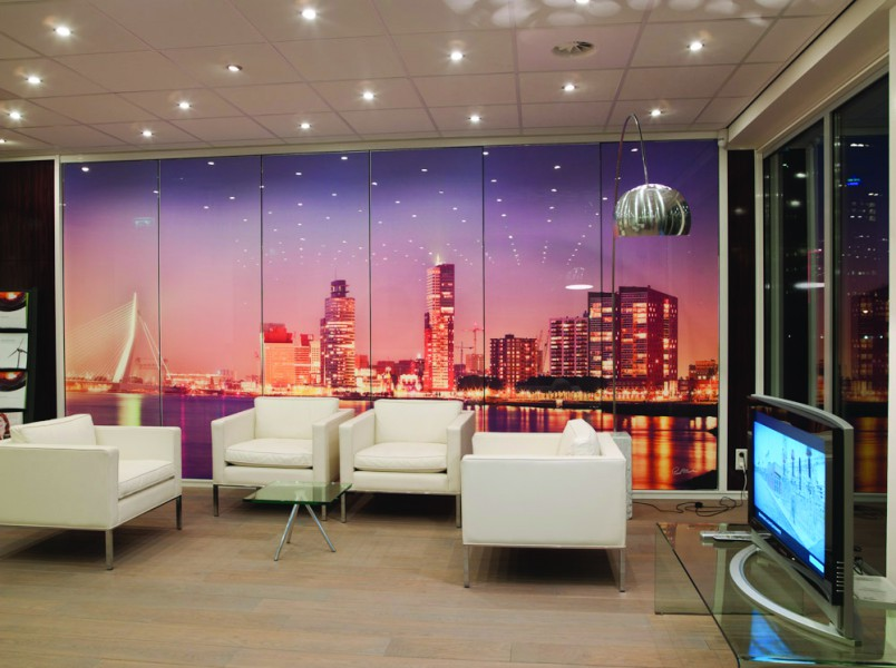 Wanddecoratie rotterdam fotografie paul martens - Decoratie kantoor ...